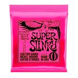 Cuerdas Eléctrica Ernie Ball 09 Encordado 0.9 Super Slinky + Envio Full
