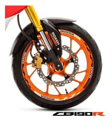 04d0776a Cintas Para Llantas Racing Honda Repsol - Cb190 Envio Gratis en ...