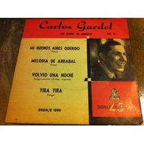 Vinilo Simple - Carlos Gardel Con Acomp. De Guitarras Vol 2