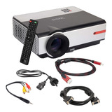 Proyector Gadnic 4500l 1080p Parlantes 200  Peliculas Series
