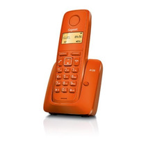 Telefono Inalámbrico Gigaset A120 Naranja Envío Gratis