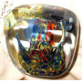 Antiguo Pisapapeles-vidrio Macizo-mar -escritorio-navidad Ar