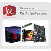 Combo Actualización Intel I7 8700 8va Mother H310 4gb Ddr4