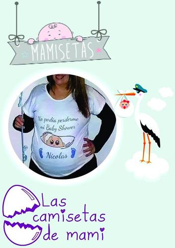 5737d2185 Remeras Embarazadas-futura Mama-baby Shower Personalizadas en venta en  Ituzaingó Centro Ituzaingó Bs.As. G.B.A. Oeste por sólo   422