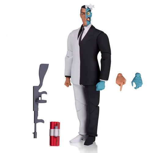 Two Face Dos Caras Batman Animated Dc Collectibles En Stock
