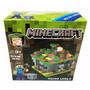 Minecraft Micro World 6 En Uno 318 Piezas + 3 Figuras