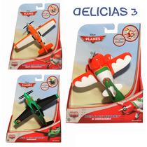 Aviones De La Pelicula Planes/cars. A Friccion !!! Combo X3
