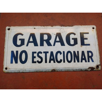 Cartel Antiguo Enlosado