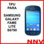 Funda Silicona Tpu Para Samsung Galaxy Fame Lite S6790