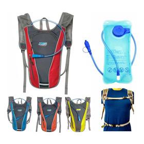 Mochila Hidratante Camelback + Bolsa De Agua 2lts Hidratacion Running Ciclismo Mtb Trekkimg Enduro