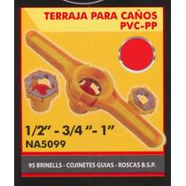 Terraja Para Caños Pvc-pp Black Jack Na5099#