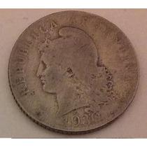 20 Centavos Moneda Nacional 1930 Cuproníquel Muy Buena