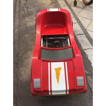 Karting Fibra De Vidrio Ind Argentina Año 1980! Impecable