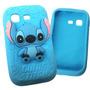 Funda Silicona 3d Stitch Galaxy Pocket Envio Gratis Cap