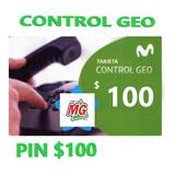 Tarjeta Movistar Geo Control Pin $ 110 - Stock 24 Hs.