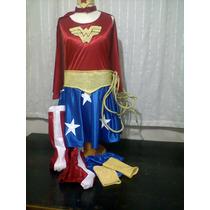 Disfraz De Mujer Maravilla!!!