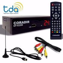 Sintonizador Tv Digital Full Hd Tda Coradir. Nuevo Dtv 2400!