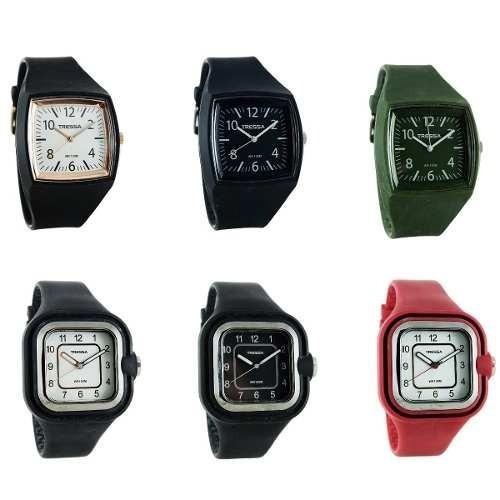 Reloj Tressa,estilo Vintage,fondo Verde O Blanco.