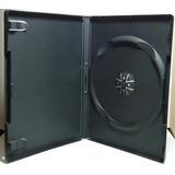 Caja Dvd 14mm Simple Nacional De Calidad X 10