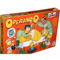 Operando A Homero Simpson Juego De Mesa Hasbro Envio Gratis