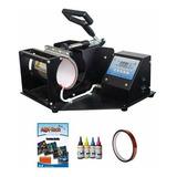 Máquina Estampadora Sublimadora De Tazas Chops Jarros + Kit