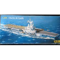 Barco Portaviones Charles De Gaulle Maquetas P/ Armar Heller