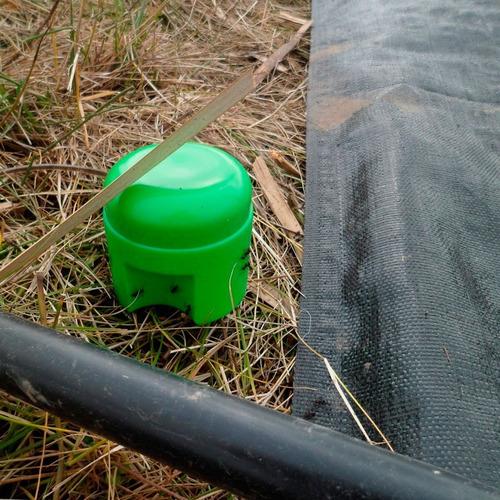 Porta Cebo X4 Hormigas Outdoor Camping Aquaflex