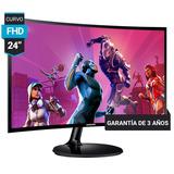 Monitor Led Curvo 24 Samsung Super Slim  Full Hd 1080 Gamer