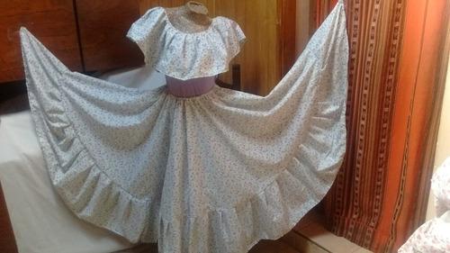 6b393439c Traje Paisana Dama Pollera Plato, Blusa Danzas Folkloricas en venta ...