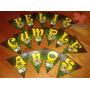 Souvenirs - Banderín Feliz Cumpleaños - Ben 10 - Y Mucho Más