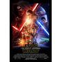 Poster De Lona Vinilica - Star Wars Vii The Force Awakens