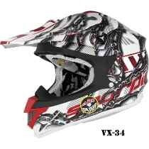 Casco Exo Scorpion Con Bomba Inflable Vx 34- Fox- Radikal