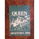 Entrada Recital Queen En Argentina-estadio Velez 1981 -campo