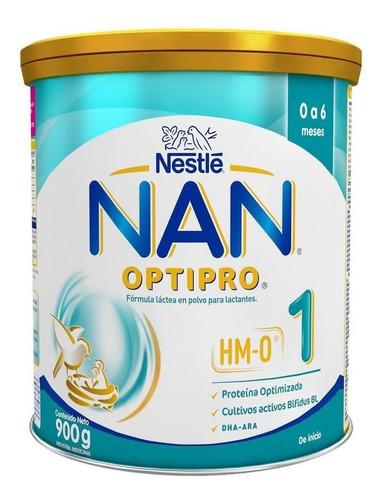 Leche De Fórmula En Polvo Nestlé Nan Optipro 1 En Lata De 900g