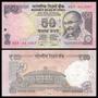 India Billete De 50 Rupias Año 2013 Sin Circular