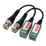 Balun Pasivo Cctv Camara Bnc A Cable Utp Par Martinez
