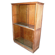 Vitrina Exhibidor Biblioteca Repisa Armario Vidrios Corrediz