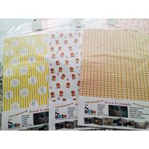 Candy Bar - Papeles Proyecto - Katu Scrapbooking