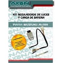 Kit Axon 6v Suzuki Ax100 Regulador De Luces Y Carga