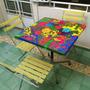 Mesas Pintadas A Mano A Pedido Varios Diseños
