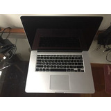 Macbook Pro Retina 15 Late 2013 I7 2.0 8g 256g Ssd