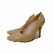 Zapato Stiletto Cuero Charolado Micheluzzi