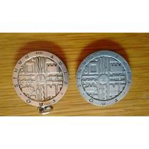 Antigua Moneda Uruguay Plata Y Cobre Duo