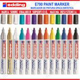 Marcador De Pintura Sintética Edding 790 Industrial