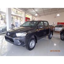 Toyota Hilux Dx 4x2 D/cab Plan De Ahorro Gris Sarthou
