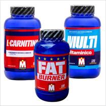 Quemador De Grasa Carnitina Fat Burner + Multivitaminico