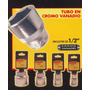 Tubo En Cromo Vanadio 22mm Black Jack B822