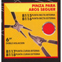 Pinza Para Aros Seguer 6 Punta Curva Interna Blackjack B117#