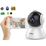 Camara Inalambrica Wifi Ip Robot Full Hd Ptz Hasta 128gb
