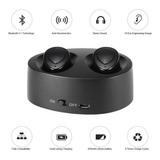 Auriculares Bluetooth Inalambricos In Ear Twins Microfono K2 Manos Libres Base Carga Livianos Twins